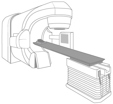 Figure 2. The treatment table