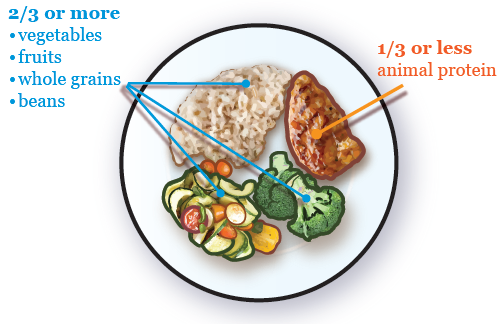 Figure 4. Balancing your plate