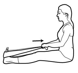 Figure 4. Calf stretch