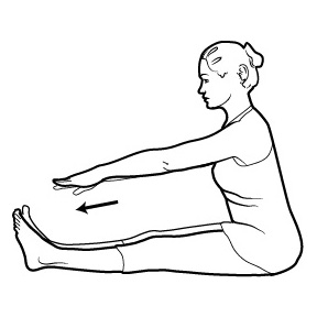 Figure 5. Hamstring stretch