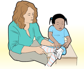 Figure 1. Working with an OT