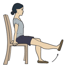 Figure 9. Sitting kicks
