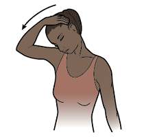 Figure 4. Press chin against chest