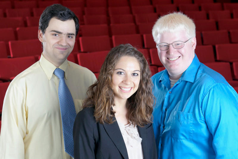 Pictured: Gregory Mazo, Jenny Karo & Robert Bowman