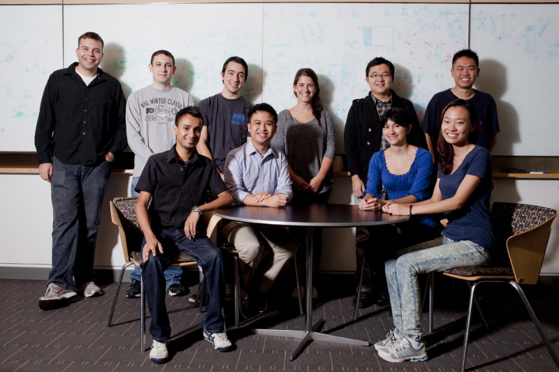 Pictured: Fall 2011 first-year PhD students