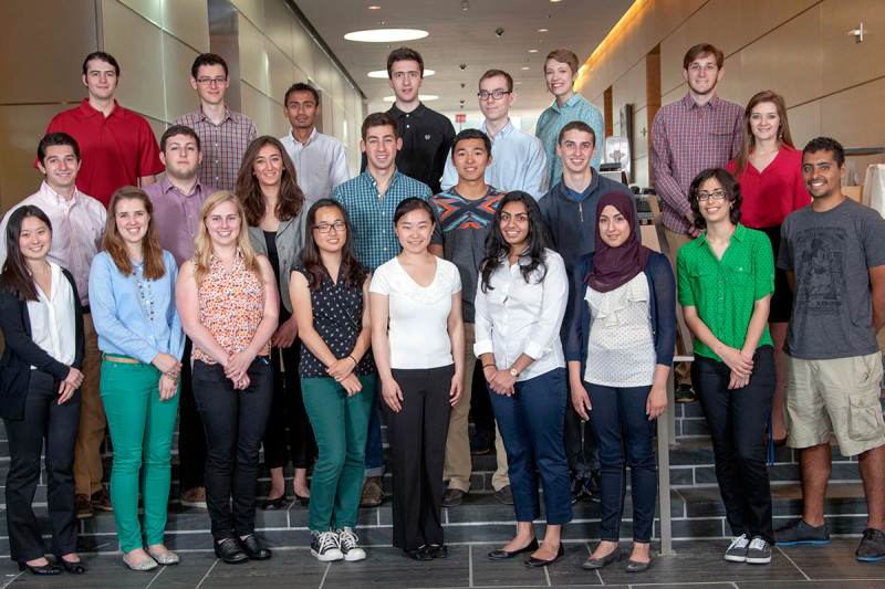 Pictured: 2014 Summer Undergraduate Research Program