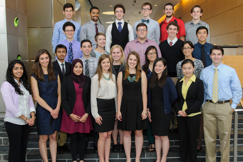 Pictured: 2014 SURP Students