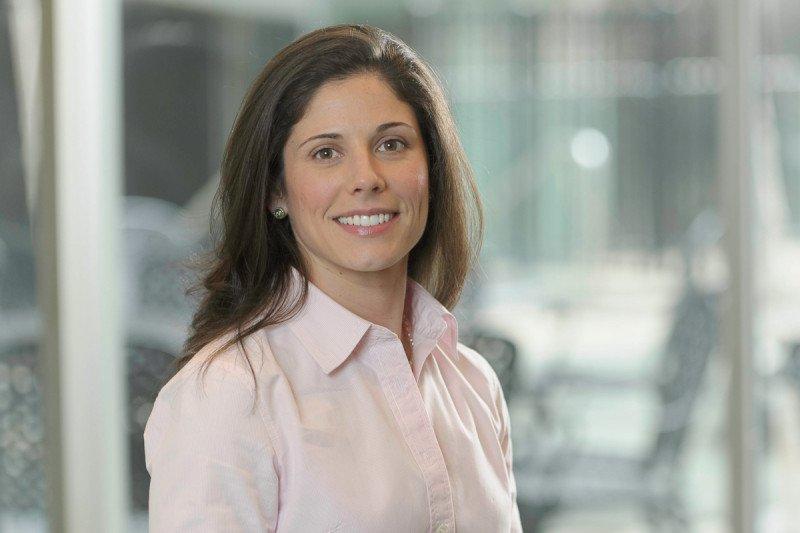 Nurse practitioner Kristen Cognetti trained at the University of Pennsylvania.