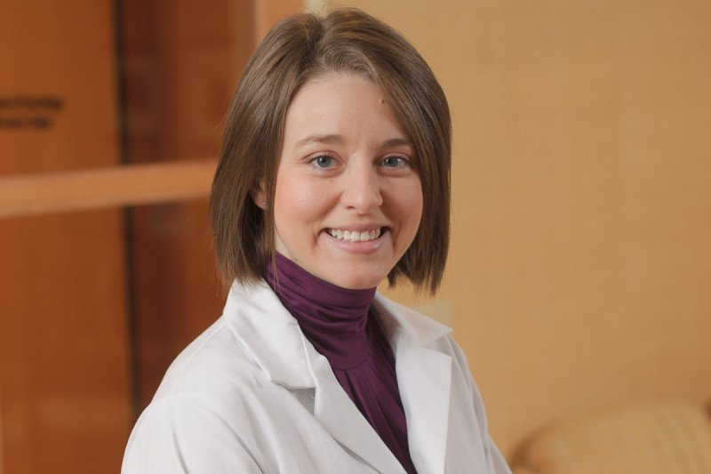 Nurse practitioner Becky Steed trained at Emory University.