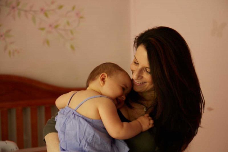 Doctors at Memorial Sloan Kettering helped Suzanne survive cervical cancer and have a baby.
