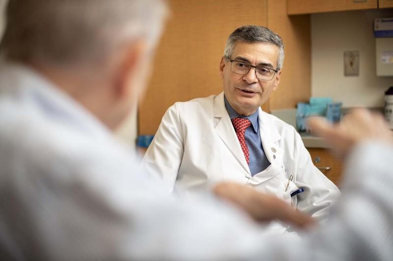 Urologic surgeon Guido Dalbagni