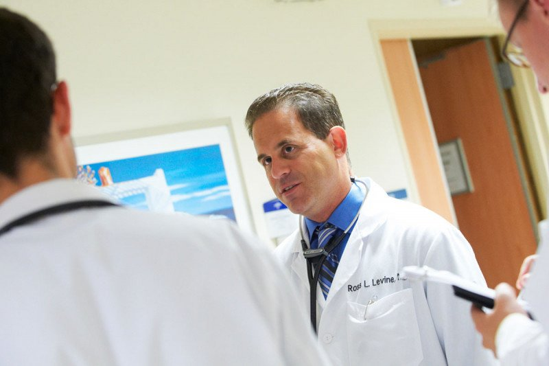 Physician-scientist Ross Levine studies the genetic basis of leukemia