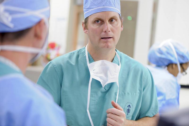 Surgeon Peter Allen