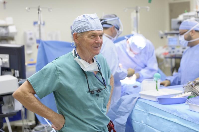 Surgeon Murray Brennan