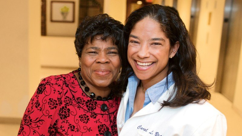 Brooklyn minister Alice Edwards says her prayers were answered when she met Carol Brown, the surgeon who treated her endometrial cancer.