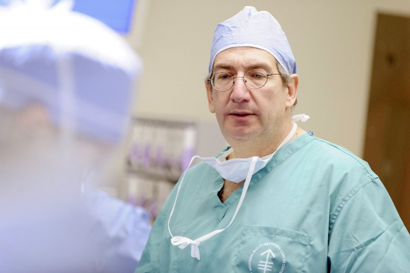 Urologic surgeon Joel Sheinfeld treats his patients with advanced surgical procedures, including a nerve-saving technique that can protect fertility.