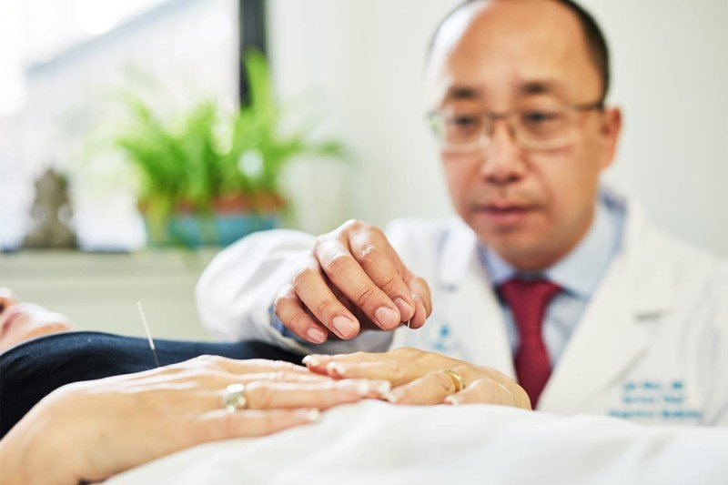 Memorial Sloan Kettering Chief of Integrative Medicine Service and acupuncture specialist Jun Mao