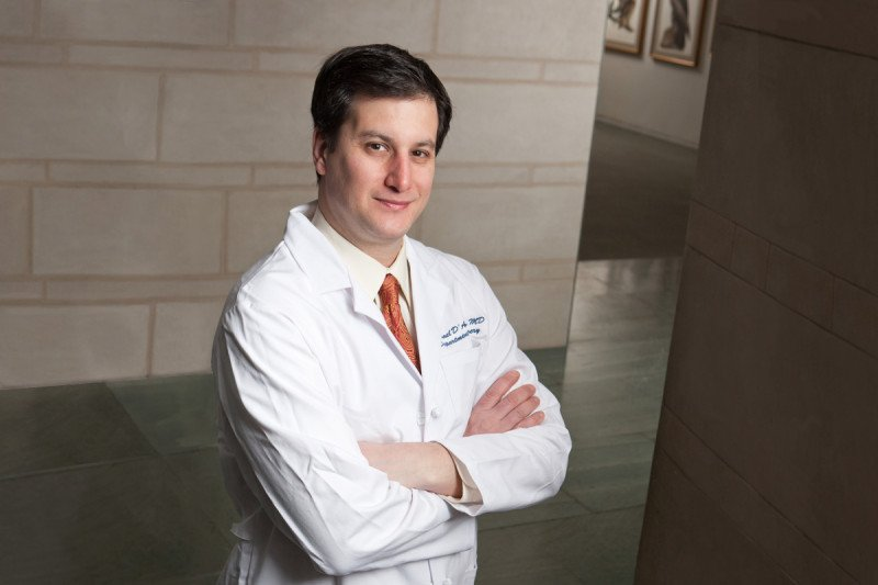Surgical oncologist Michael I. D'Angelica