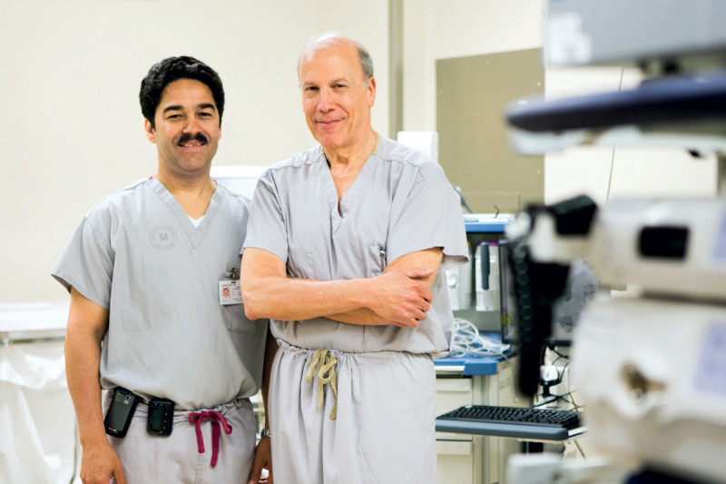 Gastroenterologists Hans Gerdes and Robert Kurtz