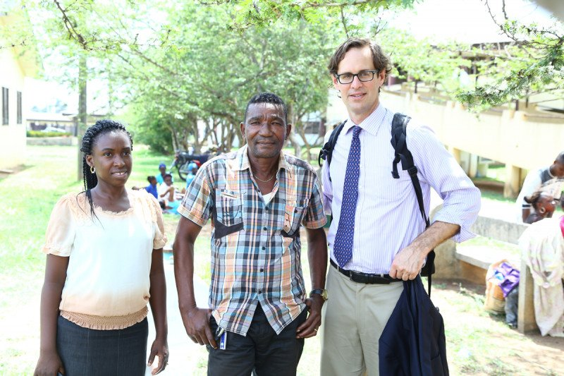 Pictured: Olajide Olawumi, MD and Peter Kingham, MD