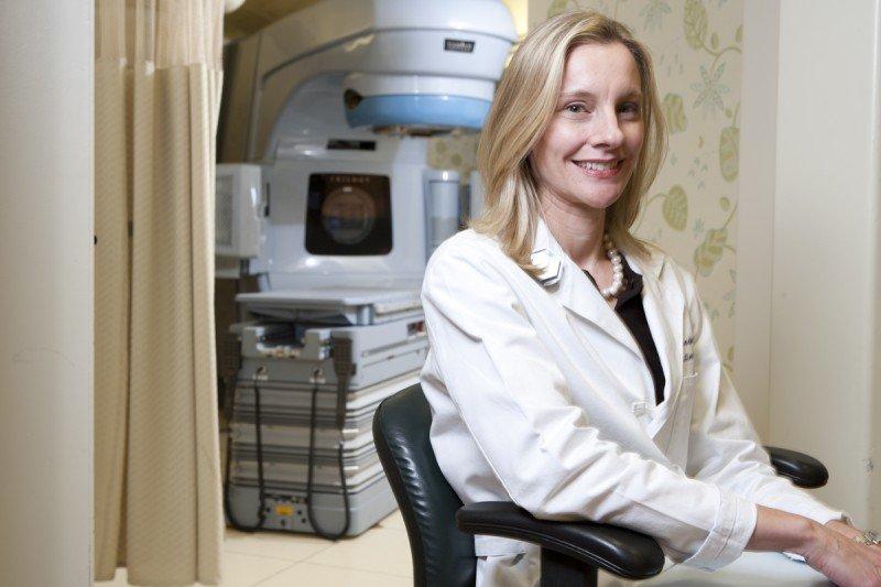 Radiation oncologist Karyn Goodman