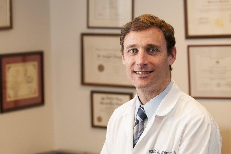 Colorectal cancer expert Martin Weiser