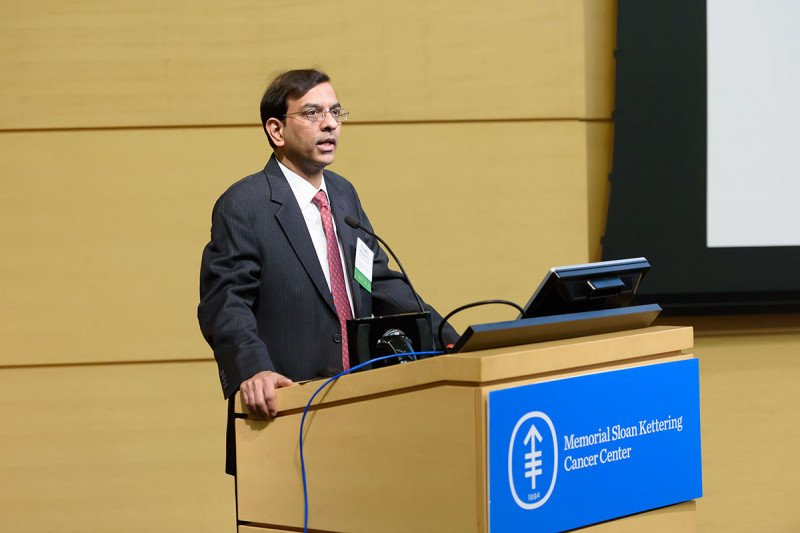 Prasad Adusumilli, Deputy Chief of MSK's Thoracic Surgery Service, organized the conference as a continuing medical education course for physicians.