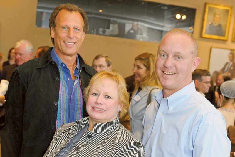 Pictured: Diane Vigar, Steve Hasday & Peter Smith