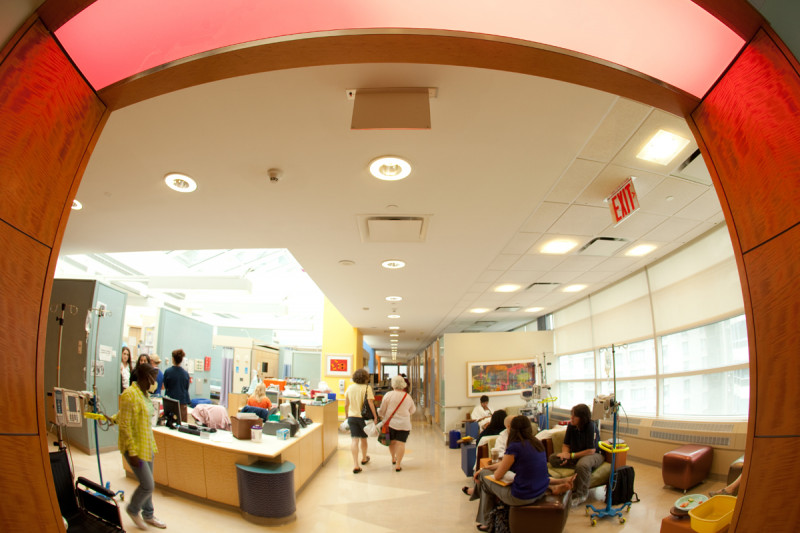 Pictured: Pediatric Day Hospital