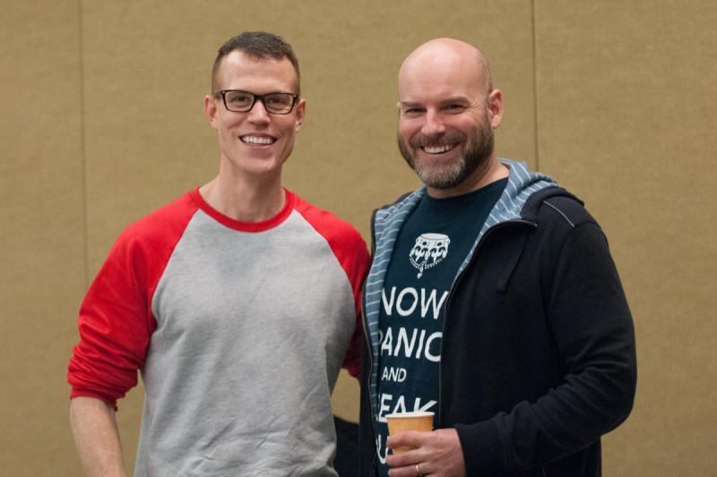 GSK alumnus James Dowdle and Scott Keeney