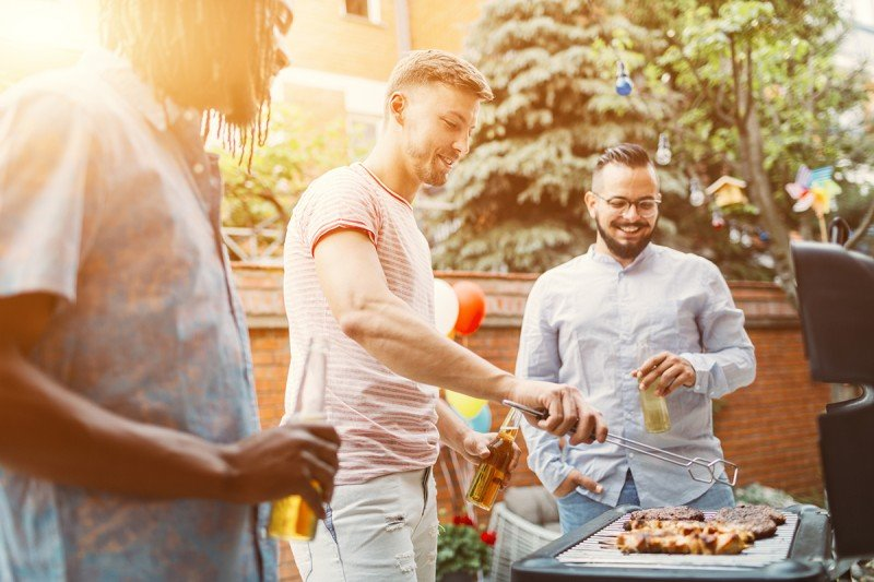 Men can reduce their cancer risk by taking it easy at the grill and consuming less barbecued meat.