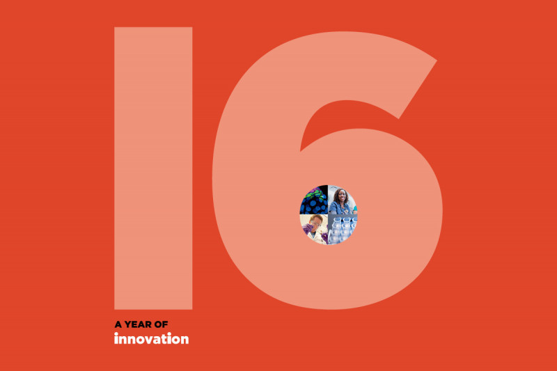 2016 Annual Report explores all the ways in which innovation touches every aspect of life at MSK.