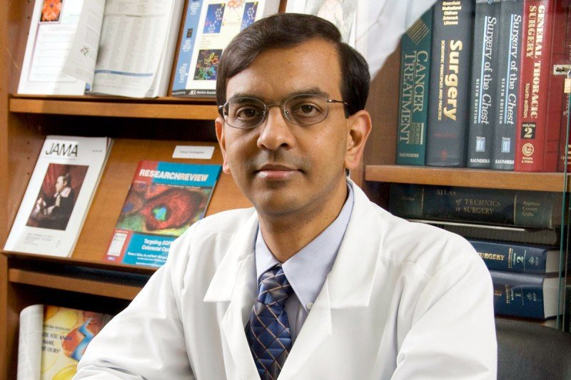 Thoracic surgeon and immunotherapy expert Prasad Adusumilli