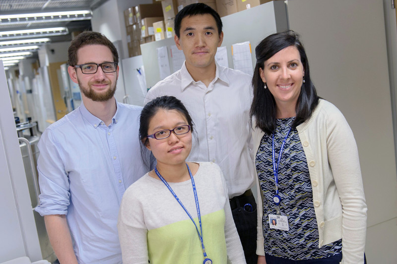 Pictured: Translational Research Oncology Training Program Fellows