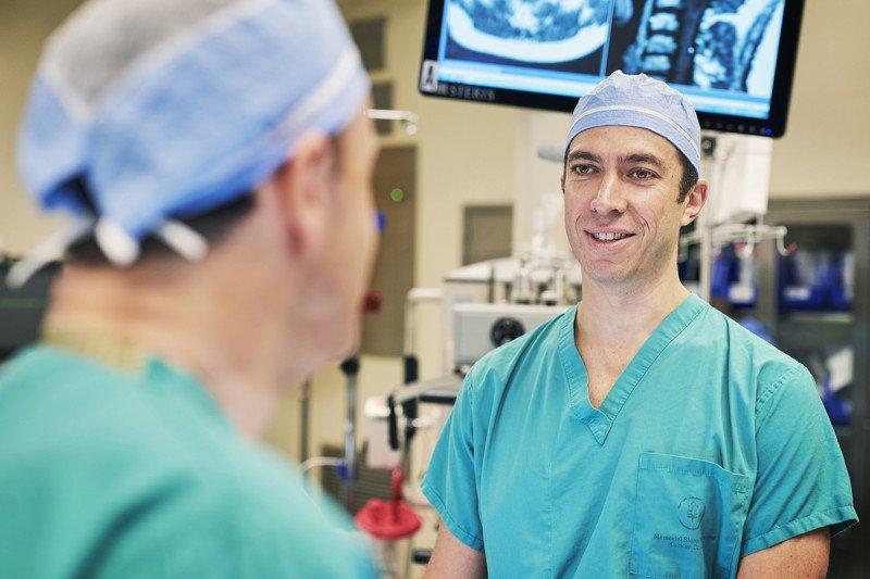 Memorial Sloan Kettering neurosurgeon Ilya Laufer