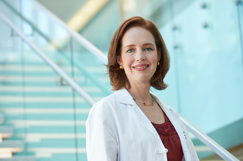 Memorial Sloan Kettering gynecologic surgeon Ginger Gardner, who practices in Manhattan and West Harrison, New York