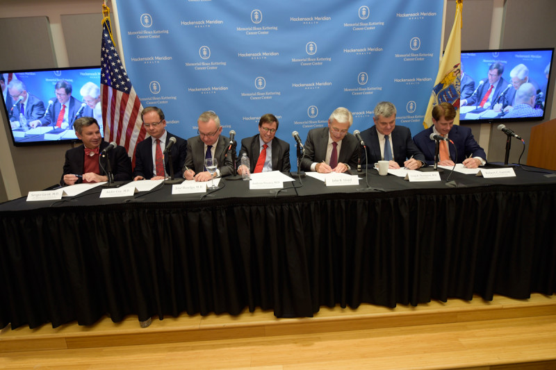 Executives at Memorial Sloan Kettering and Hackensack Meridian Health