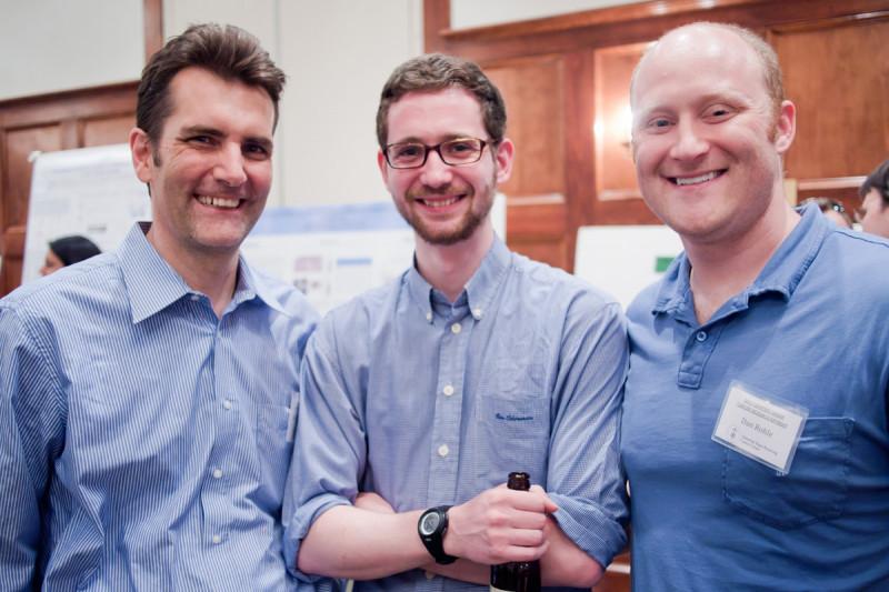 Pictured: Ingo Mellinghoff, Owen Clark & Daniel Rohle