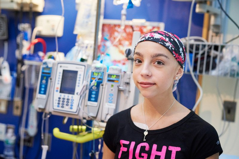 We tailor chemotherapy treatment to each of our young patients.