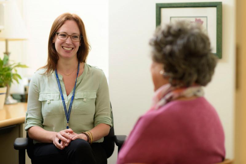 MSK social worker Jacqueline LaGrassa