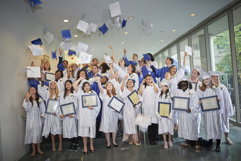 Class of 2017 at Memorial Sloan Kettering