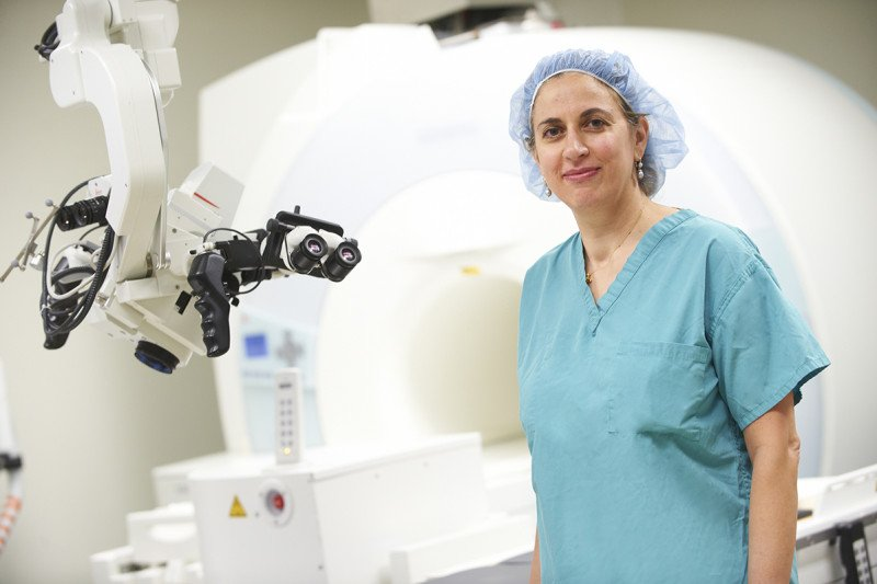 neurosurgeon and a stem cell biologist Viviane Tabar