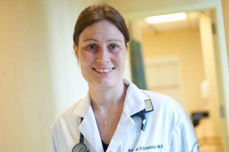 Roisin  O'Cearbhaill is a medical oncologist who treats patients with gynecologic cancers.