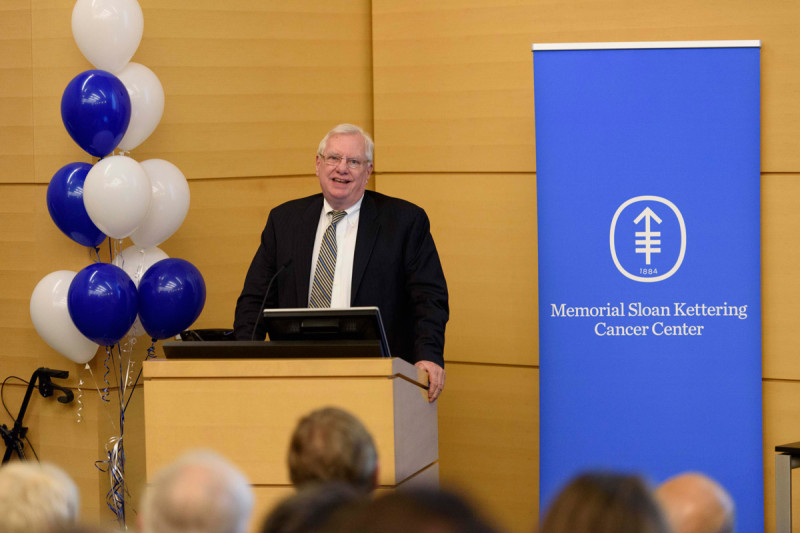Richard O'Reilly, MSK's Chief of the Pediatric Bone Marrow Transplant Service