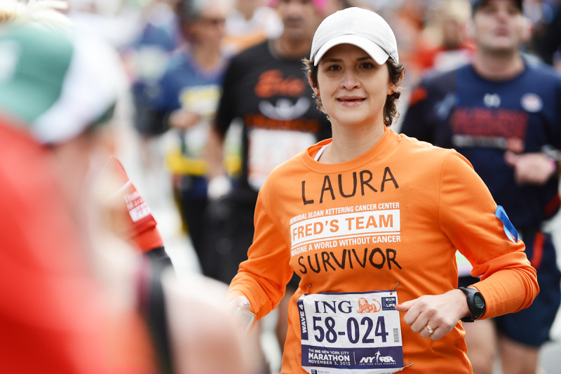 Laura, a Fred's Team runner