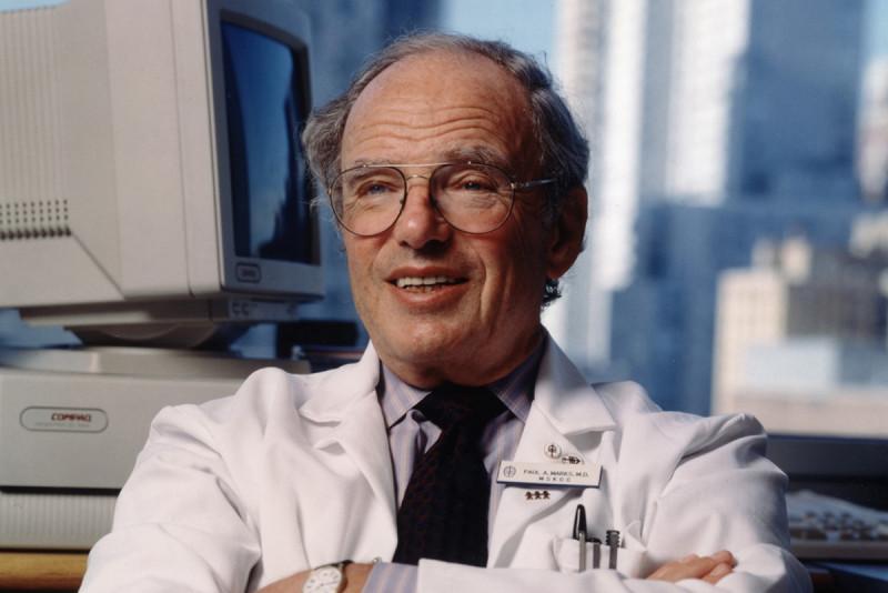 Former MSK president Paul Marks