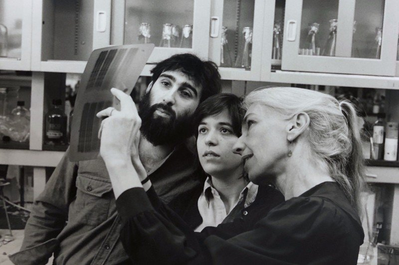 Oren Rosen and students
