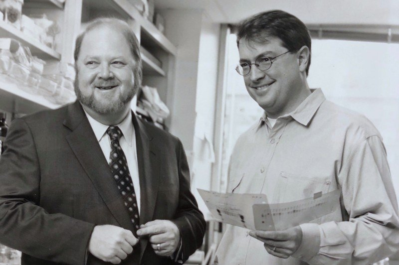 James Rothman and Carl Blobel