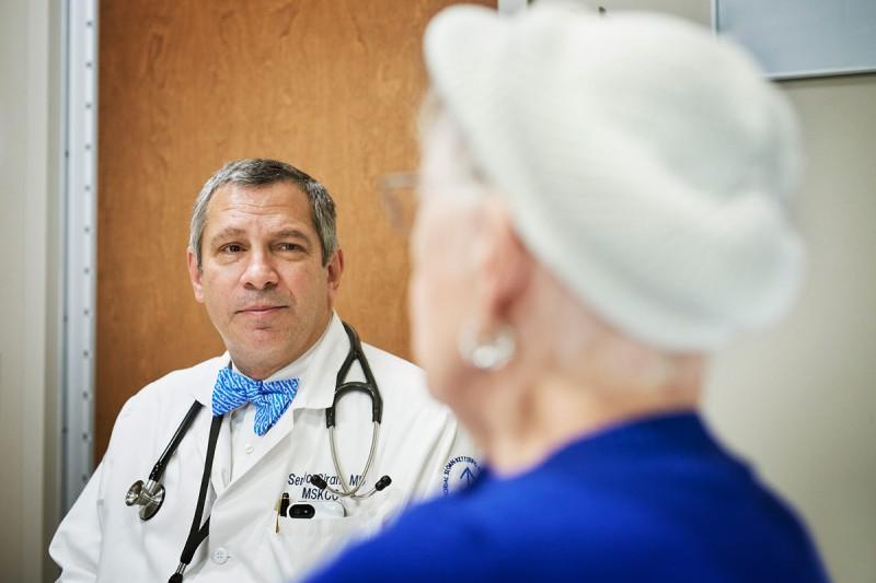 Hematologic oncologist  Sergio Giralt
