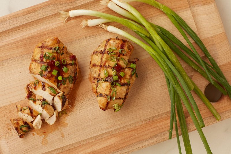Grilled Ginger Chicken